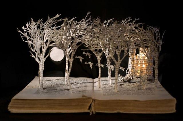 book moonlit trees