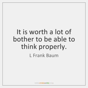 baum quote