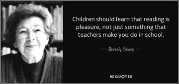 bev cleary quote