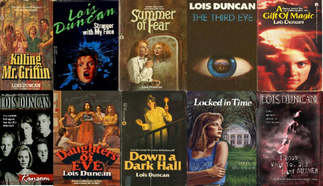 lois duncan covers